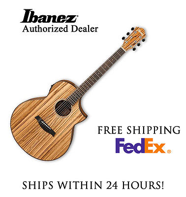 **IBANEZ AEW40Z ACOUSTIC GUITAR, INCLUDES FULL SET-UP AND FREE SHIPPING**