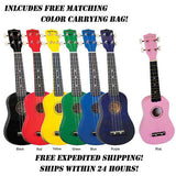 **DIAMOND HEAD SOPRANO UKULELE W/BAG - VARIOUS COLORS! - FREE SHIPPING **