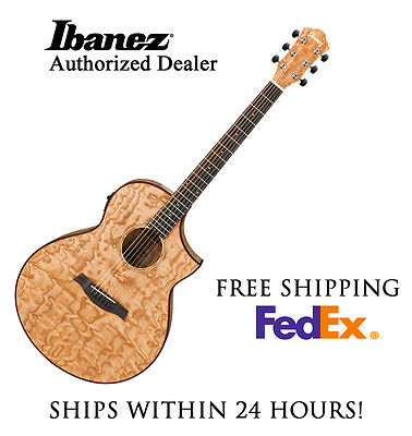 **IBANEZ AEW40AS ACOUSTIC GUITAR, INCLUDES FULL SET-UP AND FREE SHIPPING**
