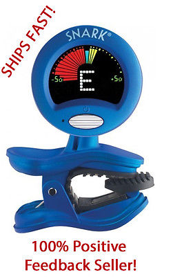 SNARK SN-1X CHROMATIC HEADSTOCK TUNER FOR GUITAR, BASS, UKE, BANJO & MORE!