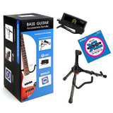 *D'ADDARIO ULTIMATE ELECTRIC BASS PACK EXL170 BASS STRINGS, CT-12 TUNER, STAND*