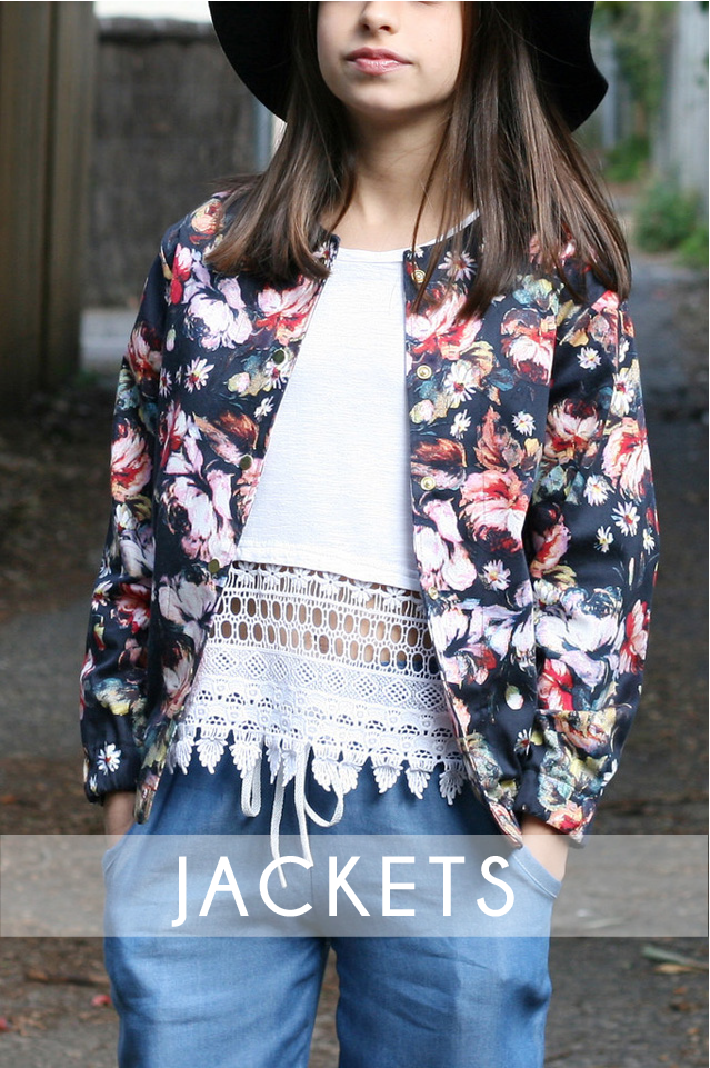 Cardigans & Jackets Sewing Patterns