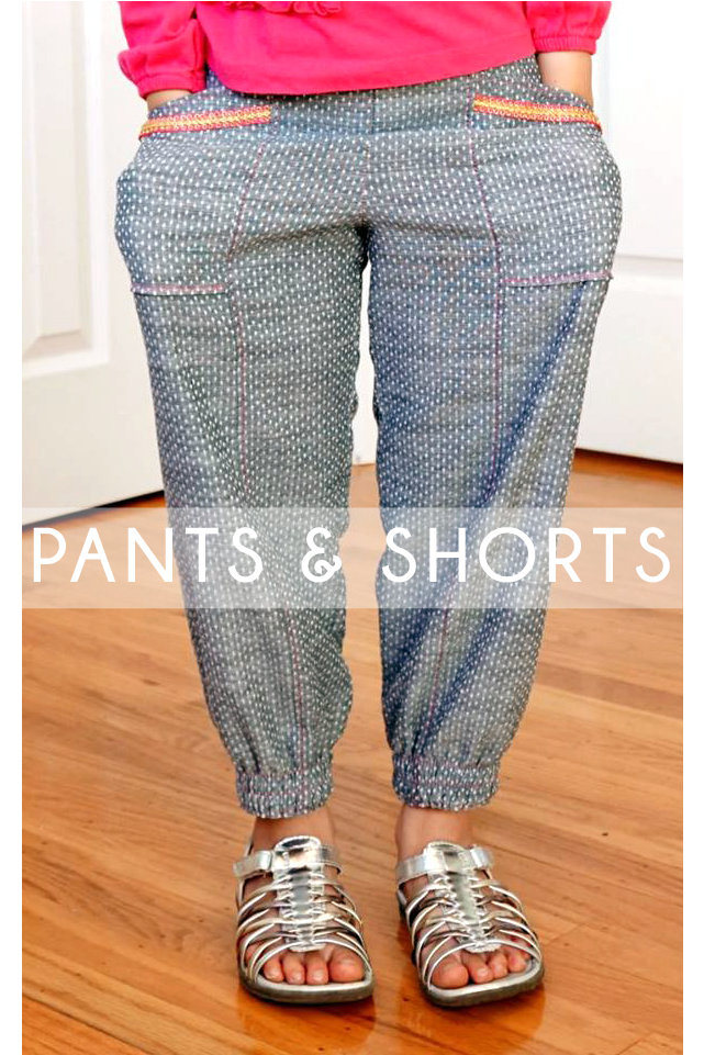 Shorts & Pants Sewing Patterns