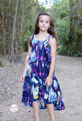 Leilani Dress for Girls PDF Sewing Pattern : Sizes 1-12