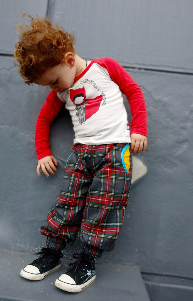 Happy Pants Harem Cargo Style Pants Pdf Sewing Pattern For Girls