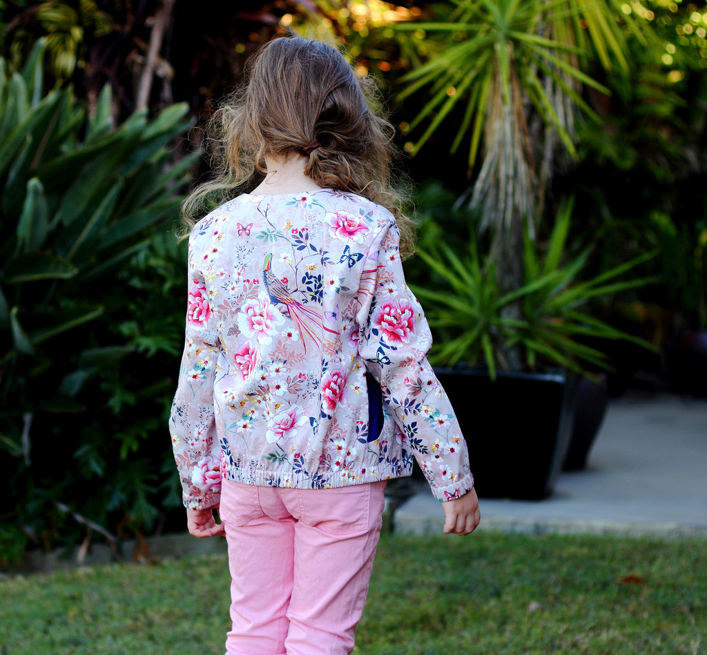 Blouson Bomber Jacket For Children Pdf Sewing Pattern
