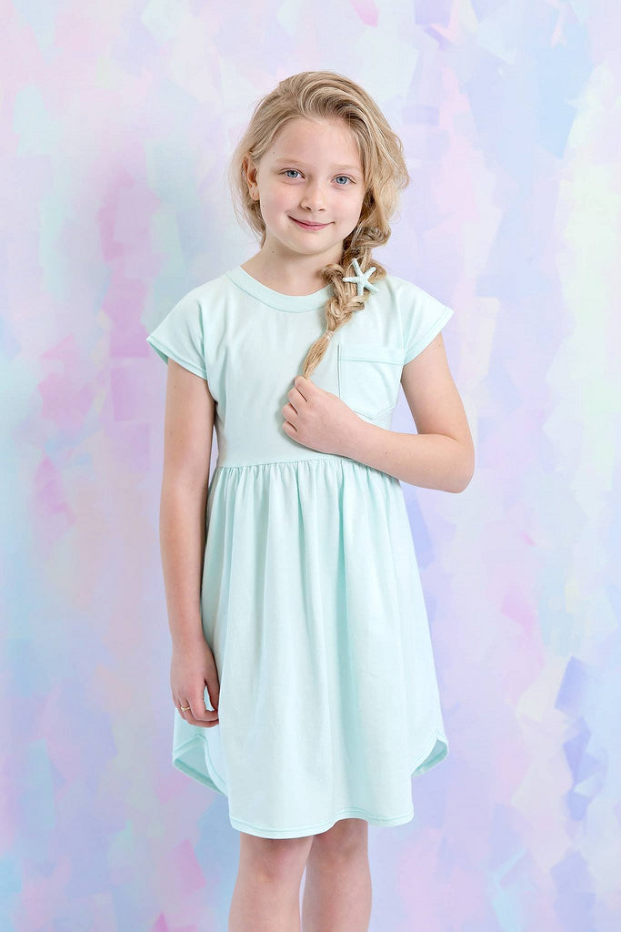 Pearlie Dress Everyday Tee Shirt Dress & Peplum Top for Girls PDF ...