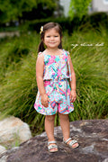 Leilani Romper Playsuit for Girls PDF Sewing Pattern: Sizes 12 Months to 14 Years