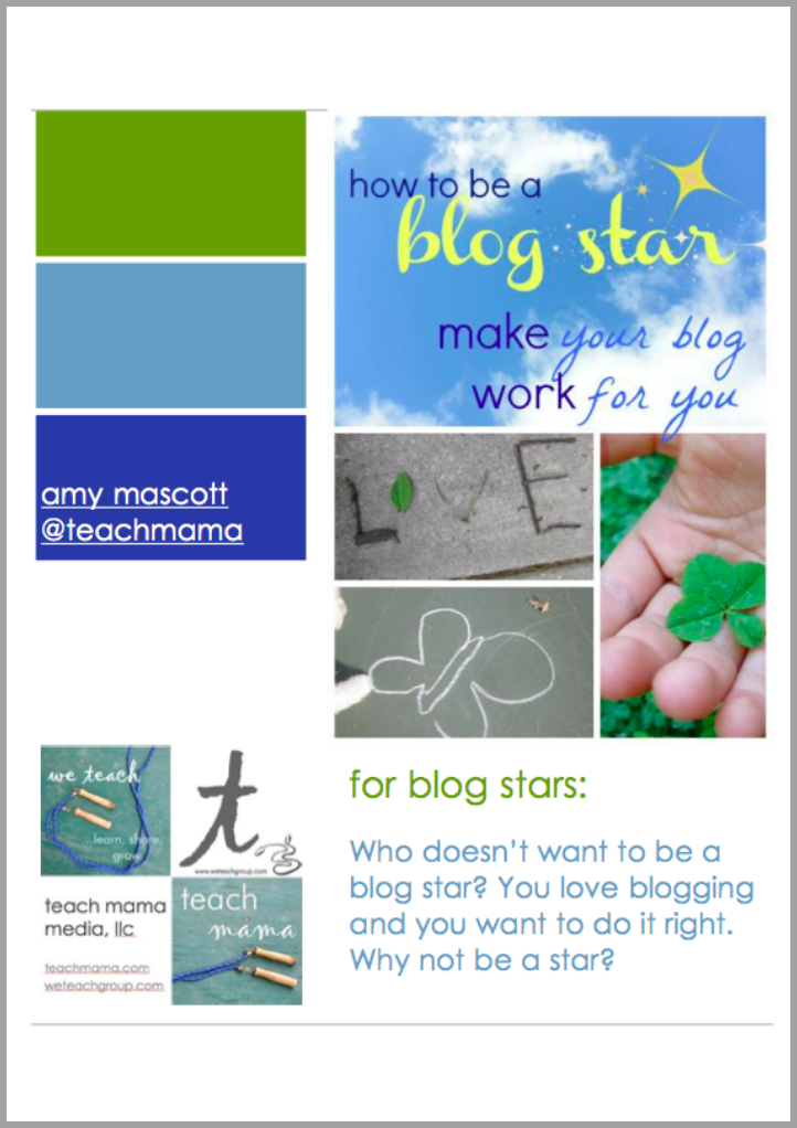 eBook ||  how to be a blogstar: make your blog work for YOU