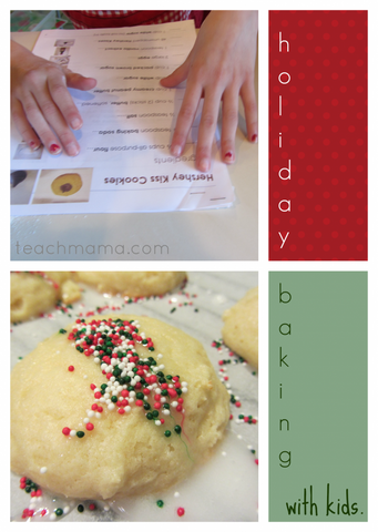 eBook || holiday baking with kids