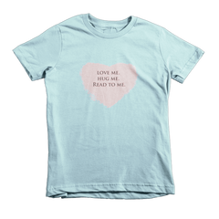 love me read to me short sleeve child t-shirt
