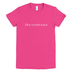 #raiseareader short sleeve women's t-shirt