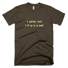 solemnly swear: short sleeve men's t-shirt