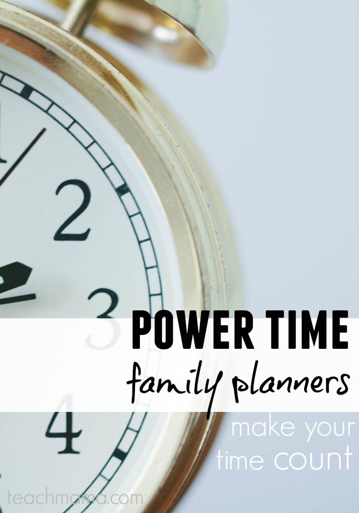 eBook || power time family planner