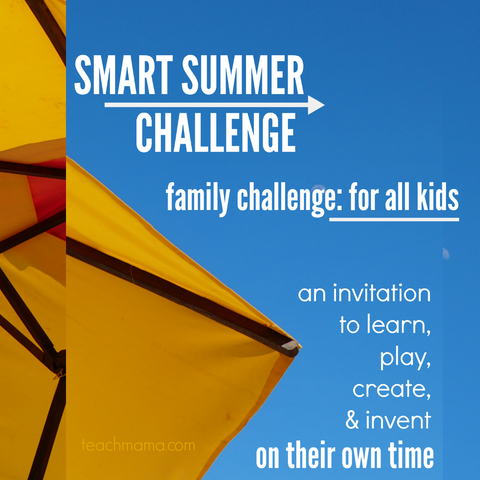 FAMILY smart summer challenge 2018: 4-7 yrs AND 8-14 years