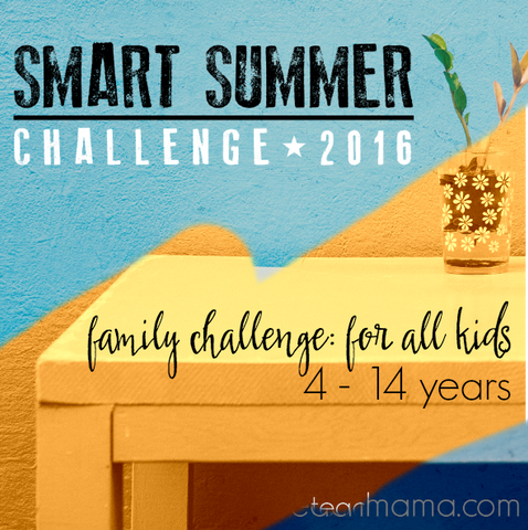 FAMILY smart summer challenge 2016: 4-7 yrs AND 8-14 years