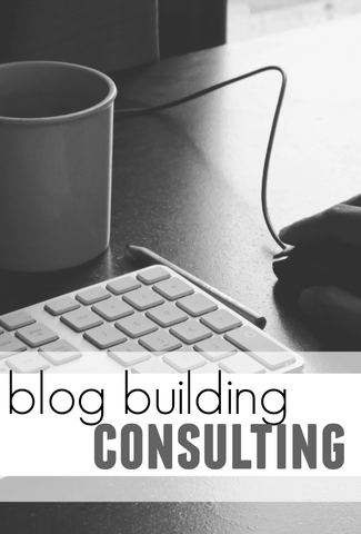 consulting || blog building