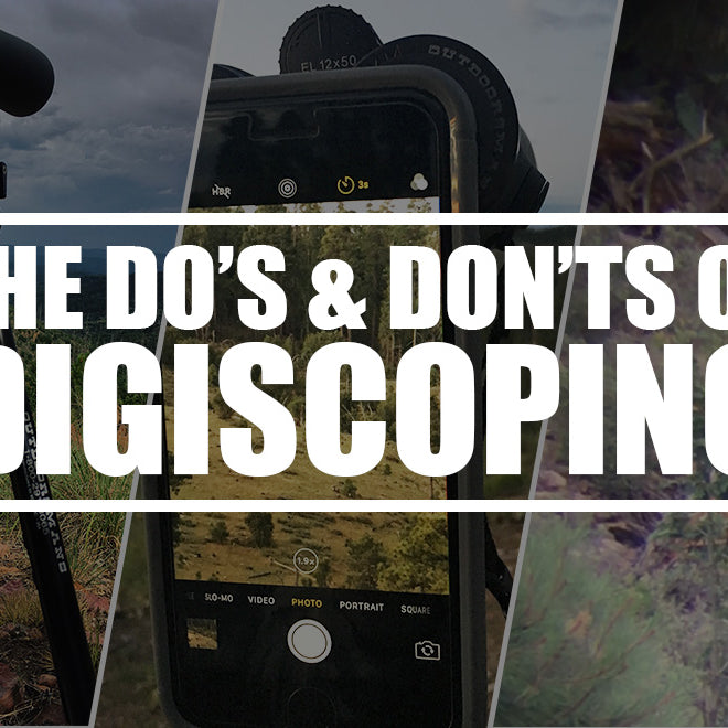 The Do's and Don'ts of Digiscoping