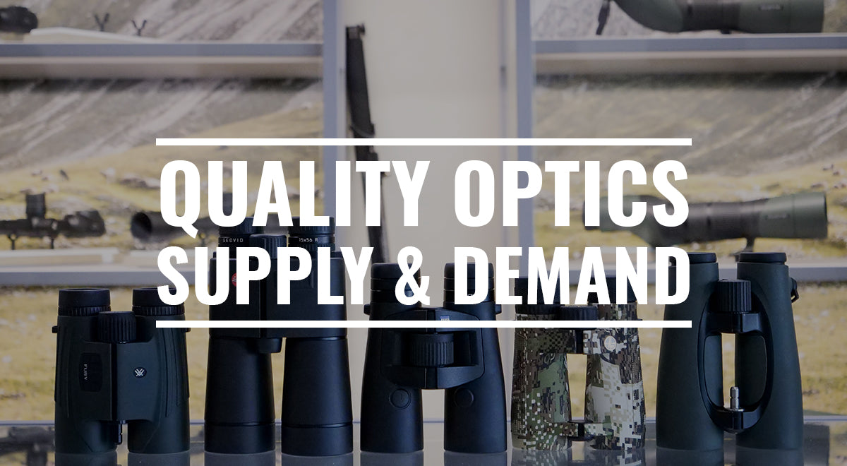 Quality Optics Supply & Demand