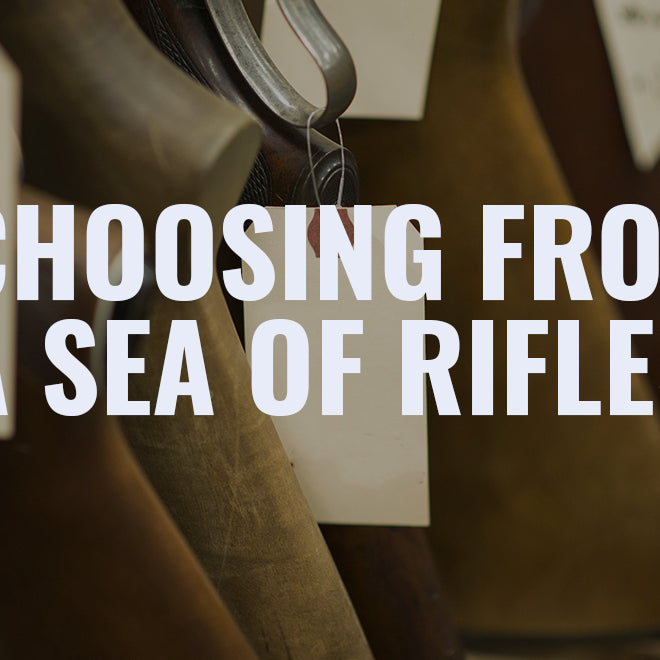 Choosing From a Sea of Rifles