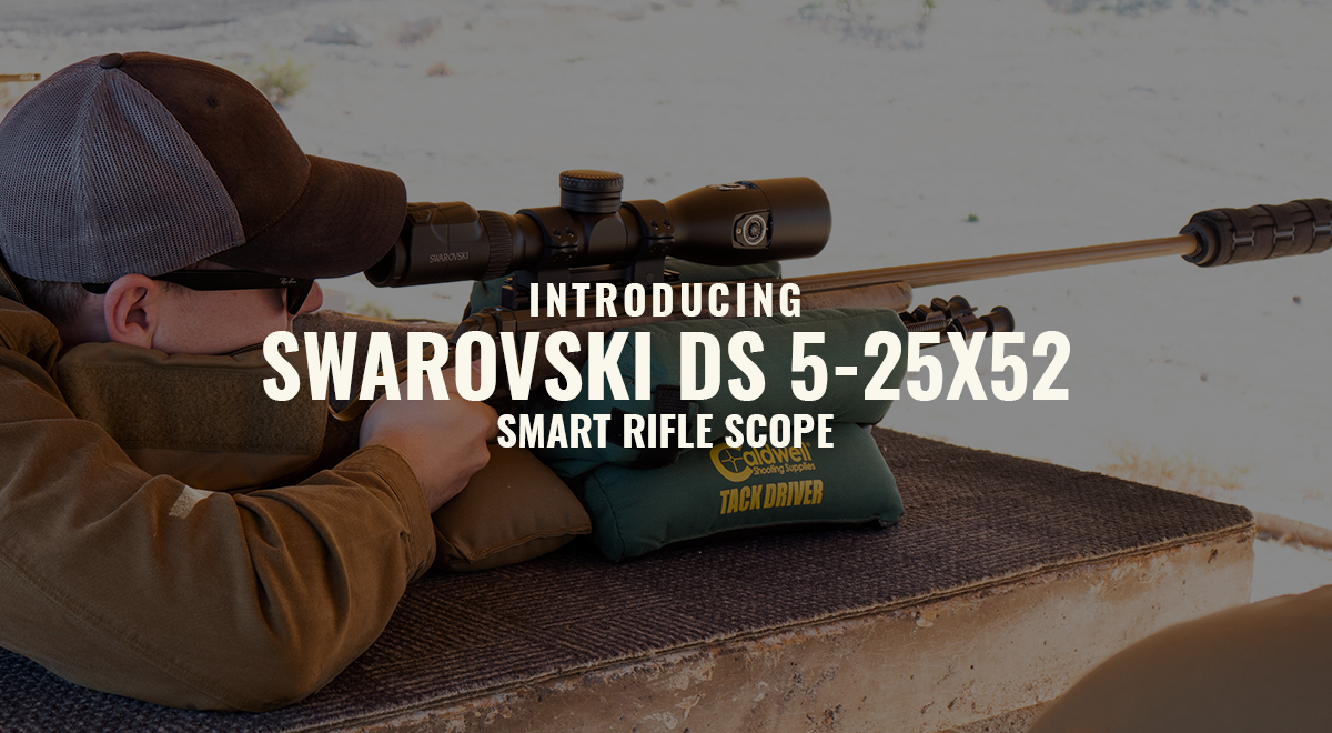 Introducing the Swarovski dS 5-25x52 Smart Riflescope
