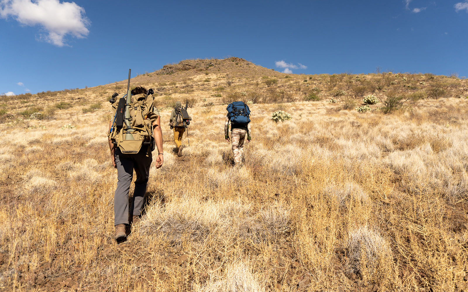 Training for the backcountry with heavy hunting packs