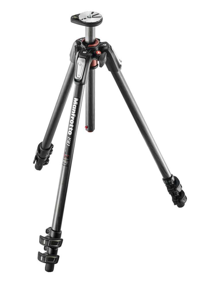 Manfrotto 190 CX PRO3 Carbon Fiber 3 Section Tripod
