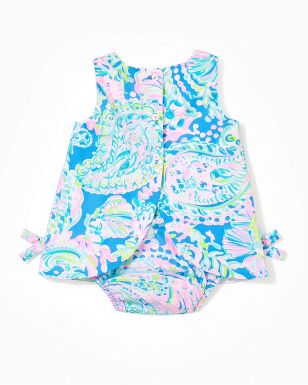 Lilly Pulitzer Baby Lilly Infant Shift Dress, Multi Dream Team