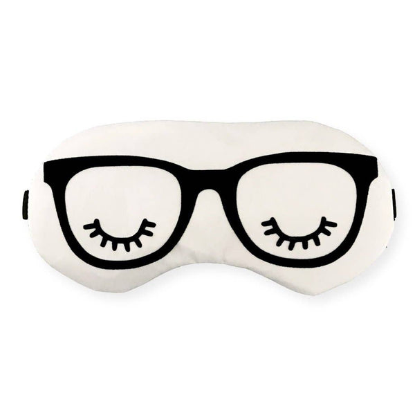 The Sleepy Cottage - Dorm Glasses Sleep Mask