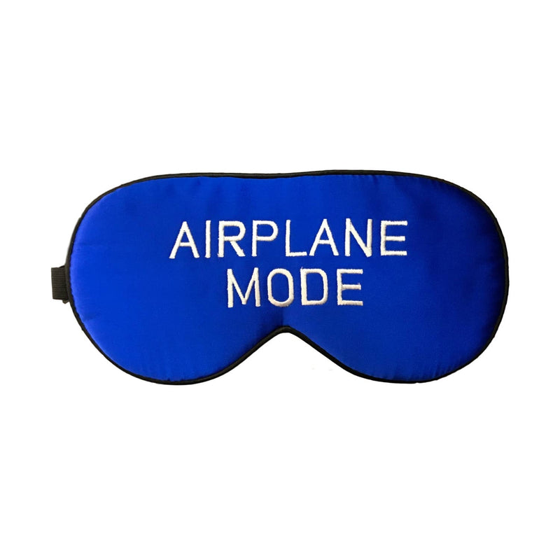 The Sleepy Cottage - Silk Airplane Mode Sleep Mask