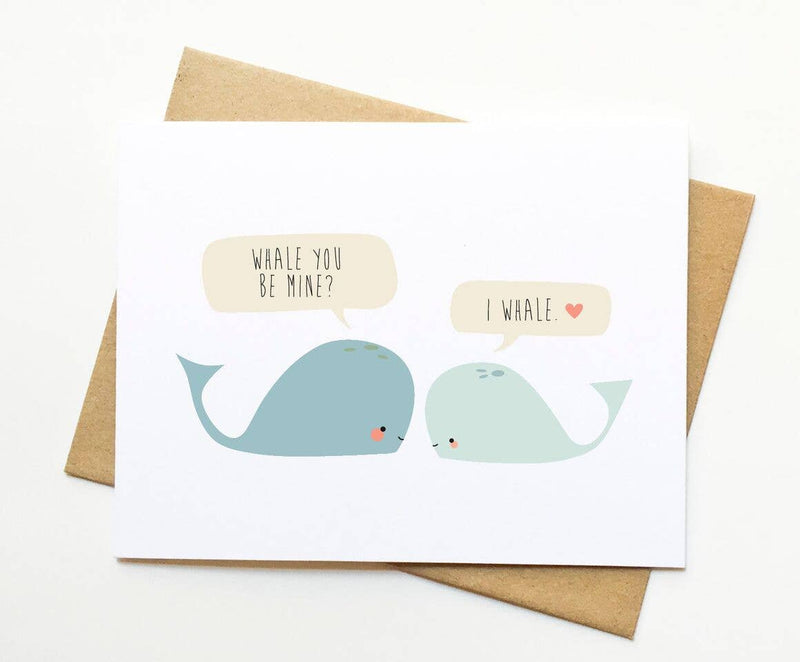 Le Trango Studios - Whale You Be Mine Card