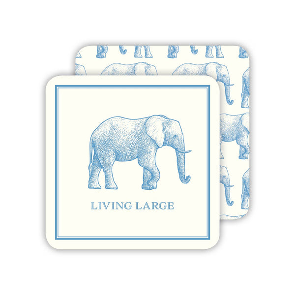 RosanneBeck Collections - Large Blue Elephant Coaster