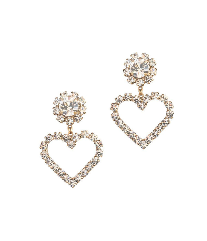 "Loren Hope Crystal ""Cupid"" Earrings"