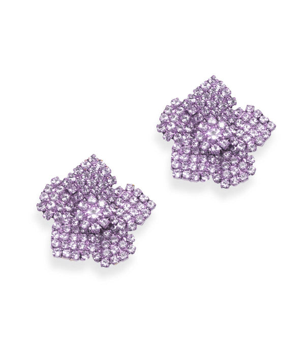 "Loren Hope ""Bonnie"" Earrings, Violet"