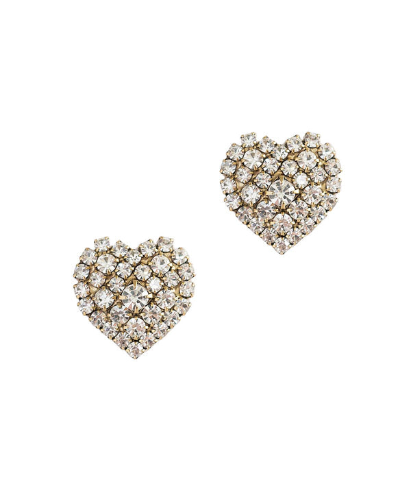 "Loren Hope ""Maci"" Heart Studs"