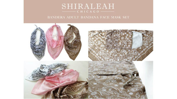 Scarf Face Mask Set