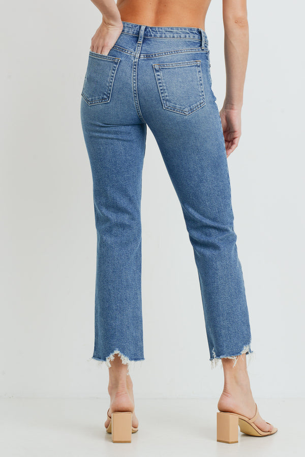 High Rise Vintage Straight Jean