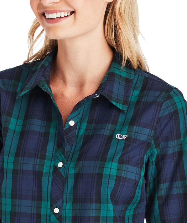 Vineyard Vines Blackwatch Chilmark Classic Button-Down Shirt