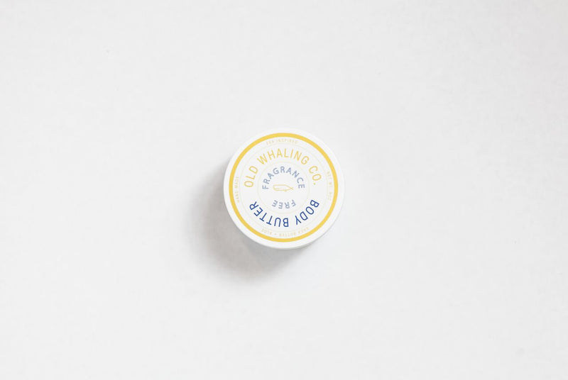 Old Whaling Company - Fragrance Free Body Butter 8oz