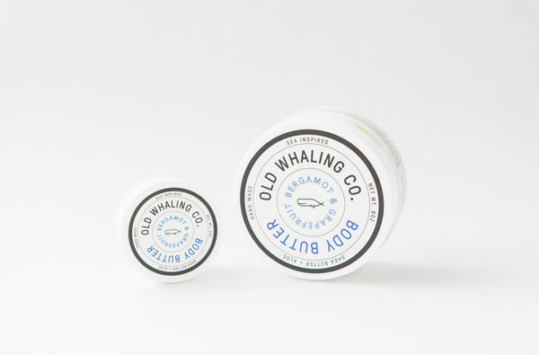 Old Whaling Company - Bergamot + Grapefruit Body Butter 8oz