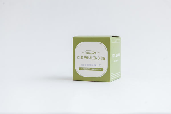 Old Whaling Company - Coconut Milk Bath Bomb