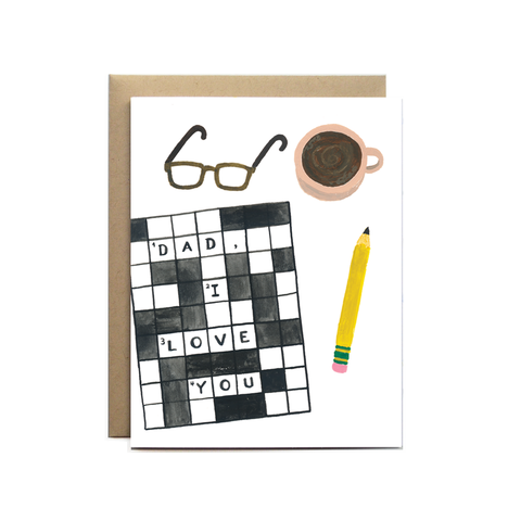 Forage Paper Co. - Dad Crossword
