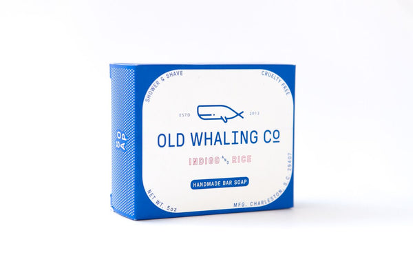 Old Whaling Company - Indigo + Rice Bar Soap