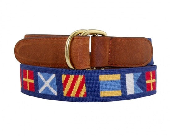 Smathers & Branson D-Ring Needlepoint Belts