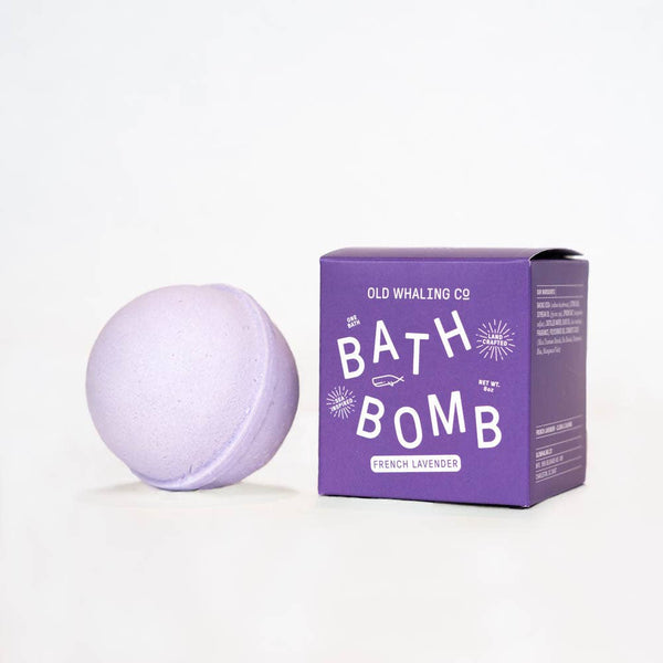 Old Whaling Company - French Lavender Bath Bomb