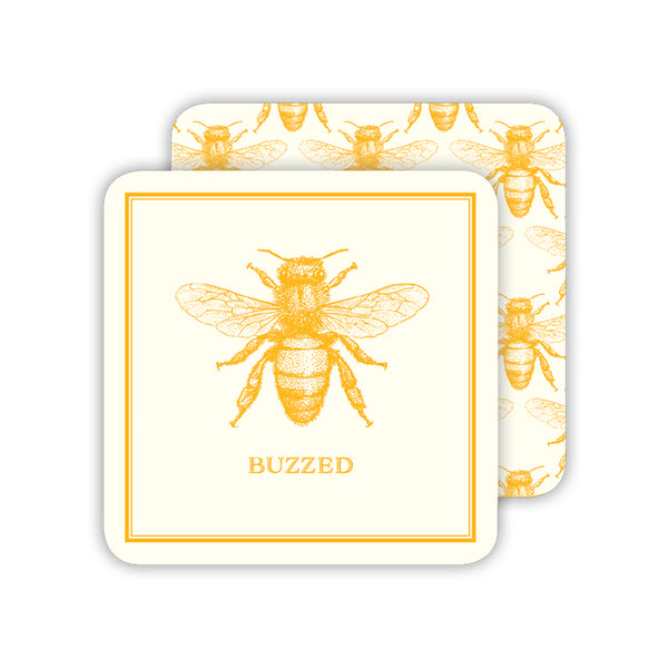 RosanneBeck Collections - Buzzed Gold Bee Coaster