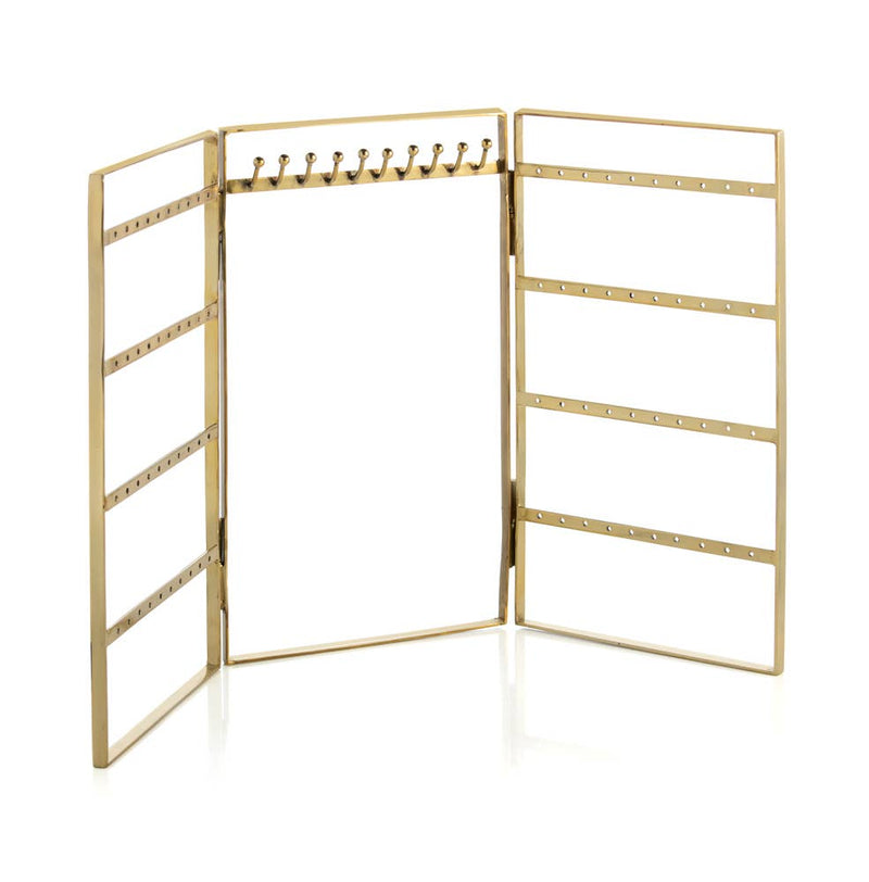 Shiraleah - Wallace Jewelry Rack - Gold