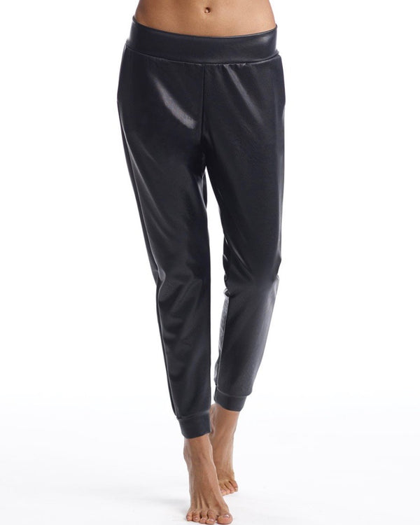 Commando Faux  Leather Jogger w/ PC