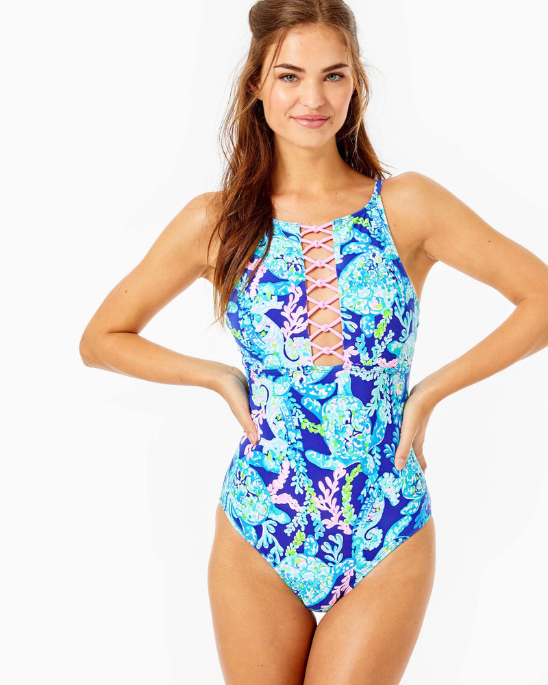 Lilly Pulitzer Mealy One Piece Swimsuit