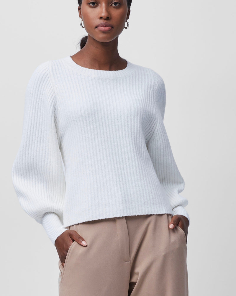 French Connection SOPHIA CREW NECK BALLOON SLEEVE